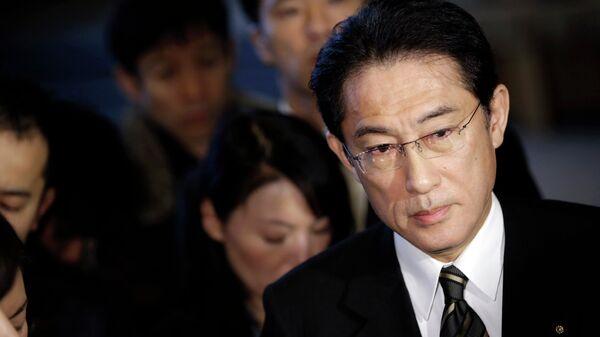 Ministro degli Esteri del Giappone Fumio Kishida - Sputnik Italia