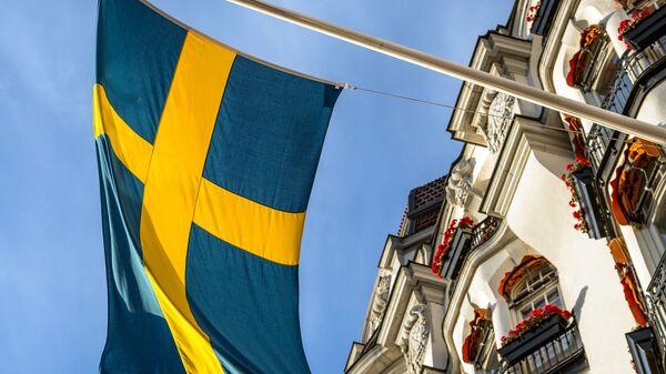 Bandiera di Svezia - Sputnik Italia