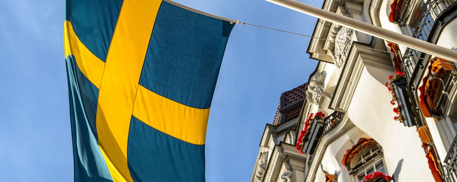 Bandiera svedese - Sputnik Italia, 1920, 18.05.2020