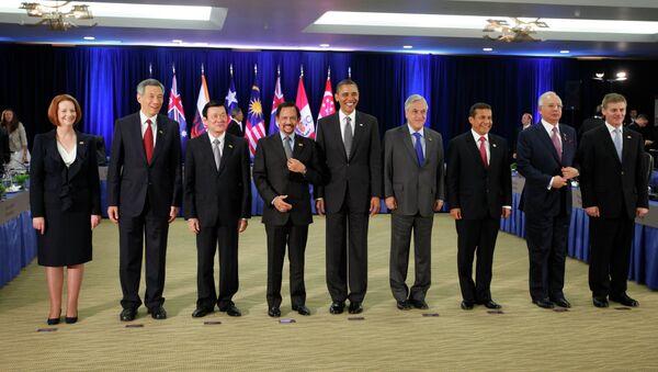 """Presidente Barack Obama incontra leader del """"Partenariato Trans-Pacifico"""" (TTP) - Sputnik Italia"""