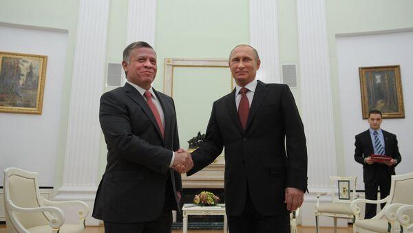 Vladimir Putin e Abdullah II di Giordania - Sputnik Italia