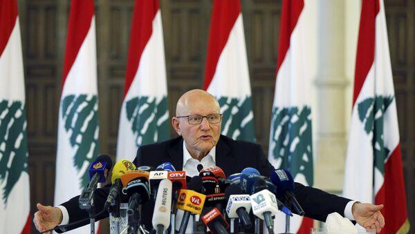 Il primo ministro di Libano Tammam Salam - Sputnik Italia