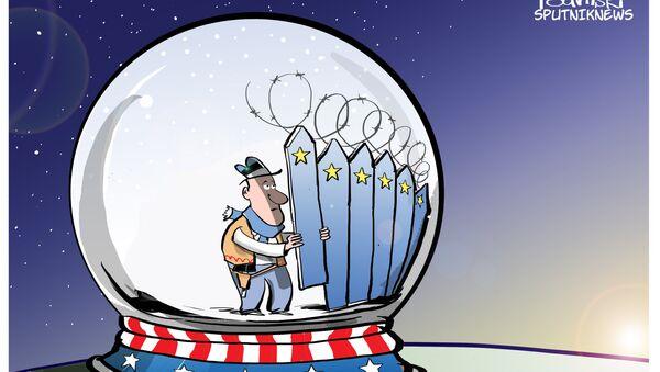 L'Estonia vuole rafforzare col filo spinato il confine con la Russia - Sputnik Italia