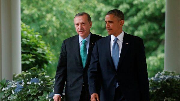 Recep Tayyip Erdoğan-Barack Obama - Sputnik Italia