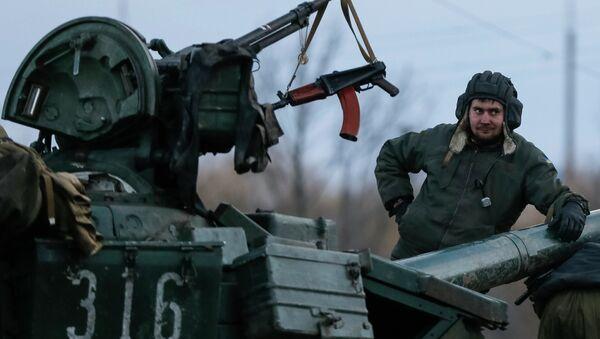Tank ucraino nel Donbass - Sputnik Italia