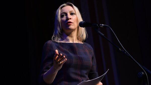 Maria Zakharova, portavoce del ministero degli Esteri russo - Sputnik Italia