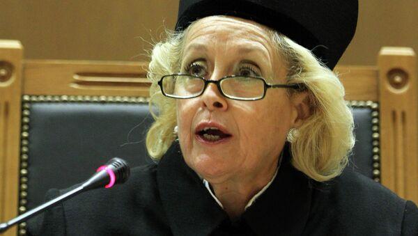 Presidente della Corte suprema della Grecia Vassiliki Thanou - Sputnik Italia