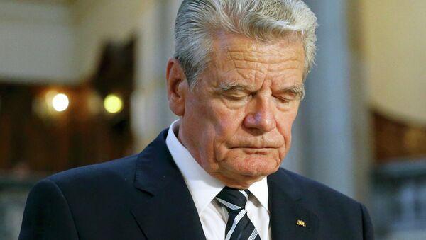 Il presidente tedesco Joachim Gauck - Sputnik Italia