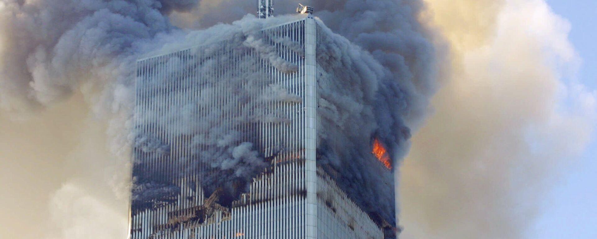 Attentato di Al Qaeda l'11 settembre 2001 al World Trade Center, New York - USA - Sputnik Italia, 1920, 10.09.2021