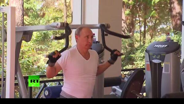 Putin da un bel esempio alla gioventù - Sputnik Italia