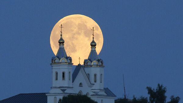 Superluna in Bielorussia - Sputnik Italia