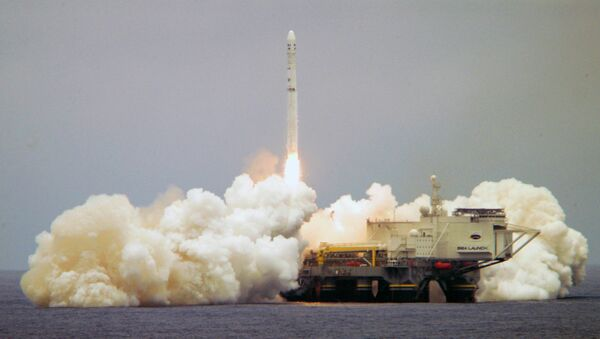 Cosmodromo galleggiante Sea Launch - Sputnik Italia