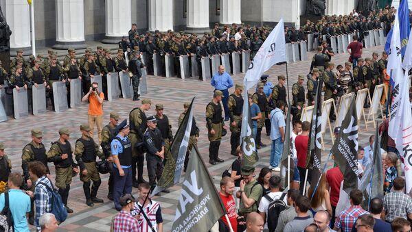 Proteste a Kiev davanti il Parlamento - Sputnik Italia