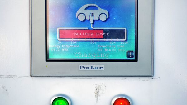 Electric Car Charger - Sputnik Italia