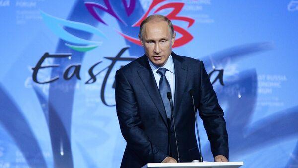 Vladimir Putin al Forum Economico Orientale a Vladivostok - Sputnik Italia