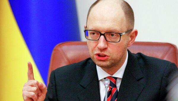 Arseniy Yatsenyuk, primo ministro dell'Ucraina - Sputnik Italia