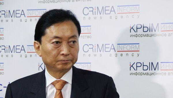 Ex primo ministro nipponico Yukio Hatoyama - Sputnik Italia