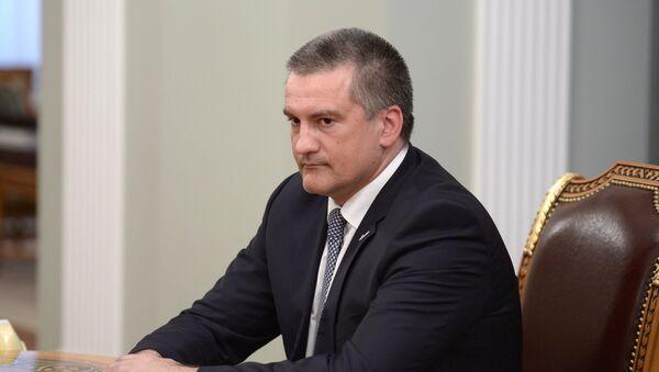 Sergej Aksenov, presidente della Repubblica di Crimea - Sputnik Italia