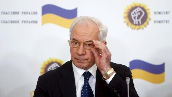 Ex premier dell'Ucraina Mykola Azarov - Sputnik Italia