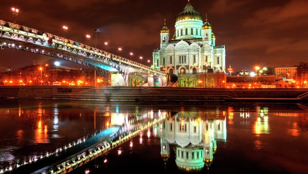Christ the Savior Cathedral in Moscow - Sputnik Italia
