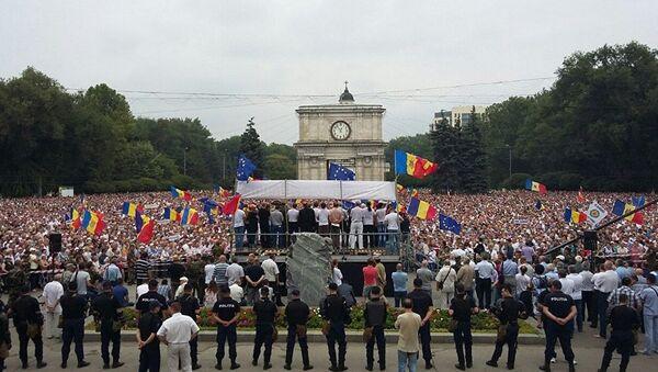 Le proteste in Moldavia. - Sputnik Italia
