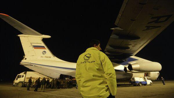 L'aereo con gli aiuti umanitari russo arriva in Siria - Sputnik Italia