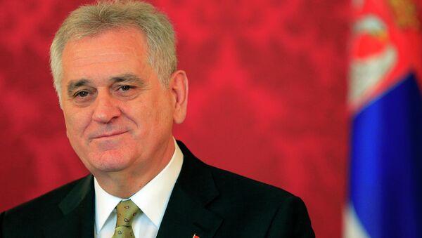Presidente della Serbia Tomislav Nikolic - Sputnik Italia