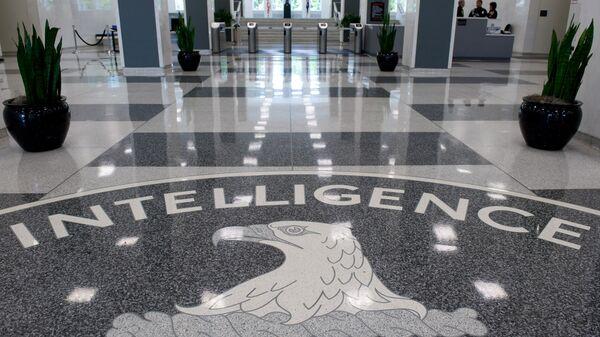 Logo della CIA nel quartier generale di Langley, Virginia - Sputnik Italia