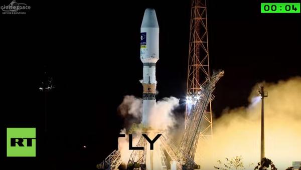 Lancio Soyuz - Sputnik Italia