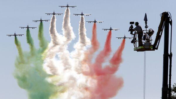 La pattuglia acrobatica Frecce Tricolori. - Sputnik Italia