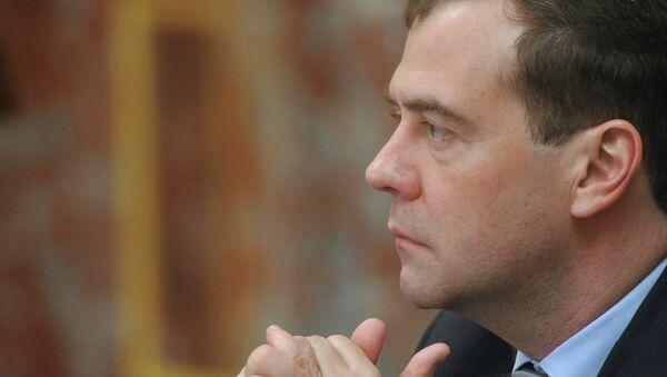 Il primo ministro russo Dmitry Medvedev. - Sputnik Italia