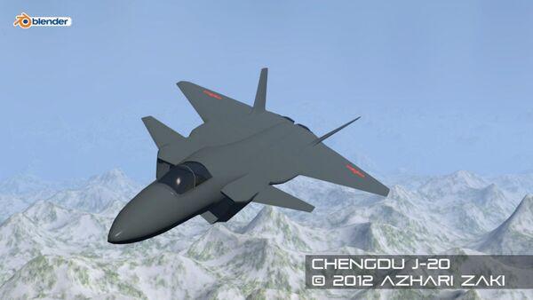 The Chinese Stealth Fighter, Chengdu J-20 - Sputnik Italia