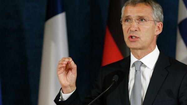 Il segretario generale della NATO Jens Stoltenberg - Sputnik Italia