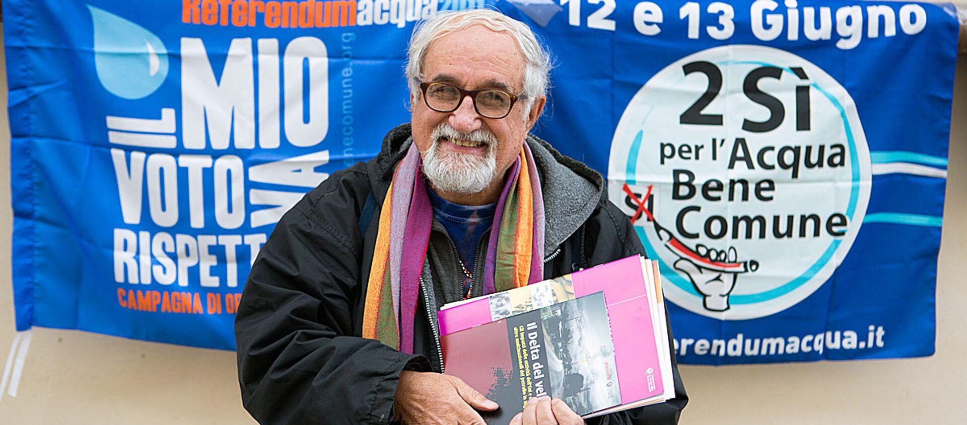 Padre Alex Zanotelli - Sputnik Italia, 1920, 01.02.2021