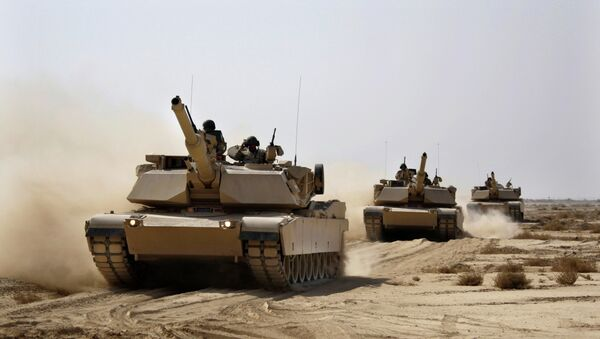 Carri armati USA Abrams dell'esercito dell'Iraq - Sputnik Italia