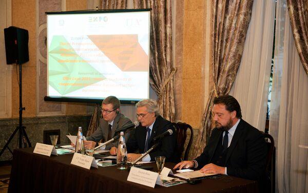 L'intervento dell'ambasciatore Ragaglini ha aperto il seminario - Sputnik Italia