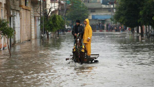 Alluvione in Gaza - Sputnik Italia