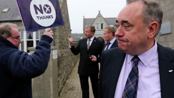 Alex Salmond, Scottish National Party First Minister - Sputnik Italia