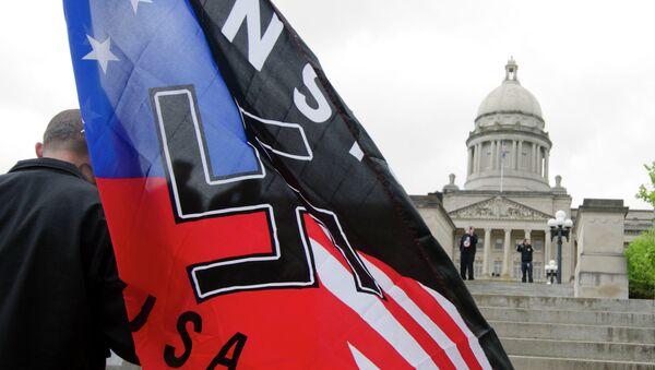Manifestazione neonazista in USA - Sputnik Italia