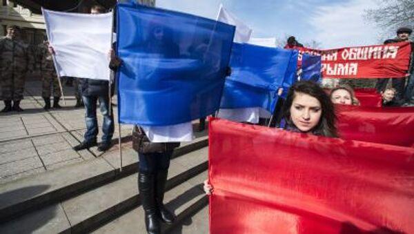 Festeggiamenti per l'Adesione alla Russia da parte della Crimea - Sputnik Italia