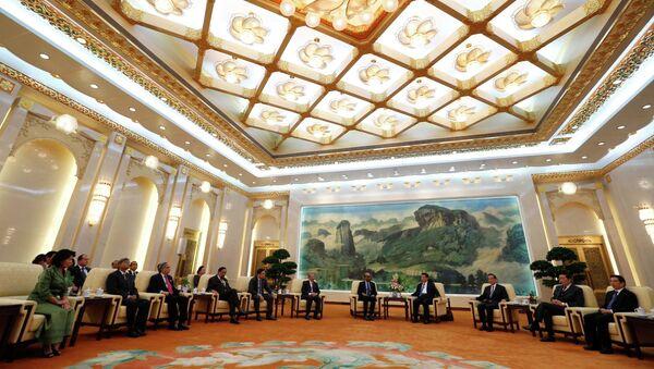 Riunione a Pechino della Banca Asiatica d'Investimento per le infrastrutture - Sputnik Italia