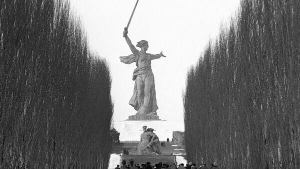 Il monumento alla Gloria dell'Armata Rossa, Stalingrado - Sputnik Italia