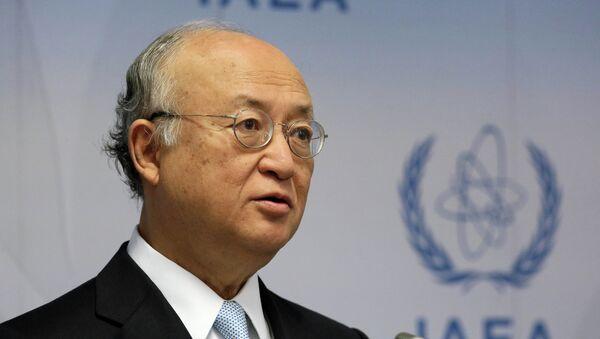Direttore generale dell'AIEA Yukiya Amano - Sputnik Italia