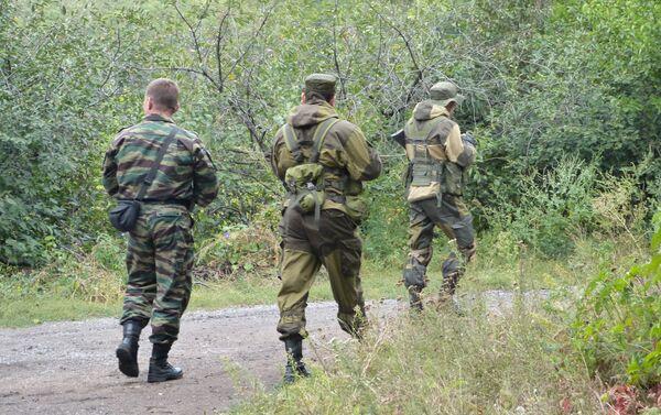 Militari a Donetsk - Sputnik Italia