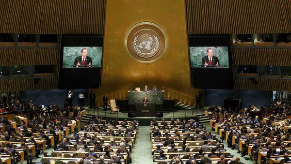 L'apertura della 70° Assemblea Generale dell'ONU - Sputnik Italia