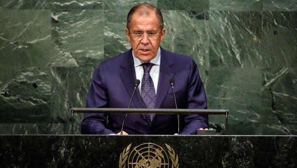 ONU, discorso di Sergej Lavrov - Sputnik Italia