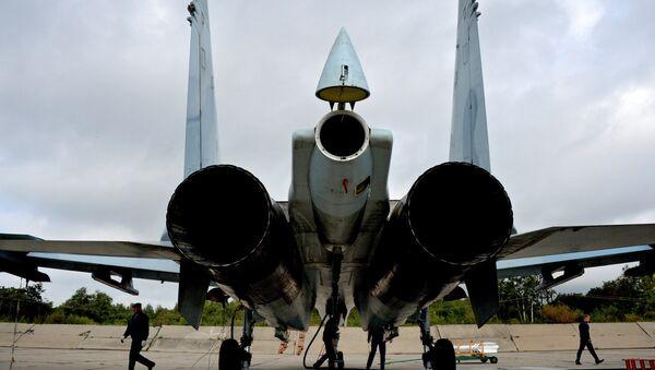 Un caccia russo SU-27SM. - Sputnik Italia
