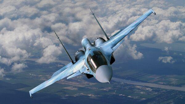 Caccia russo Sukhoi Su-34 - Sputnik Italia