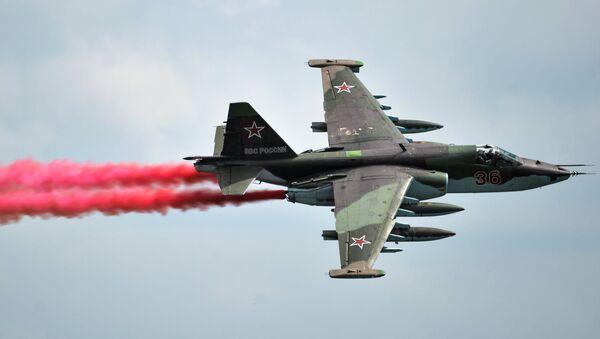 Un caccia Sukhoi SU-25 - Sputnik Italia