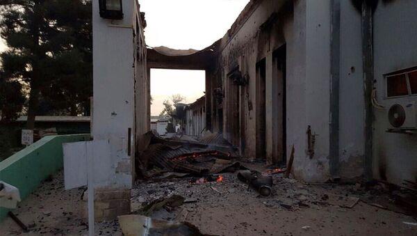 Ospedale di Kunduz di Medici Senza Frontiere dopo bombardamento USA - Sputnik Italia